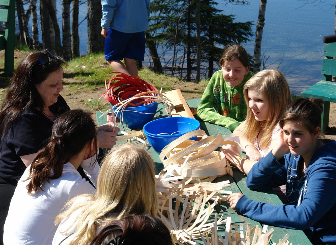 Family Workshop - Make a Traditional Native American Black Ash Basket