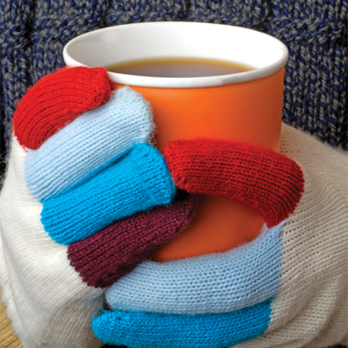 Knitting Mittens and Gloves