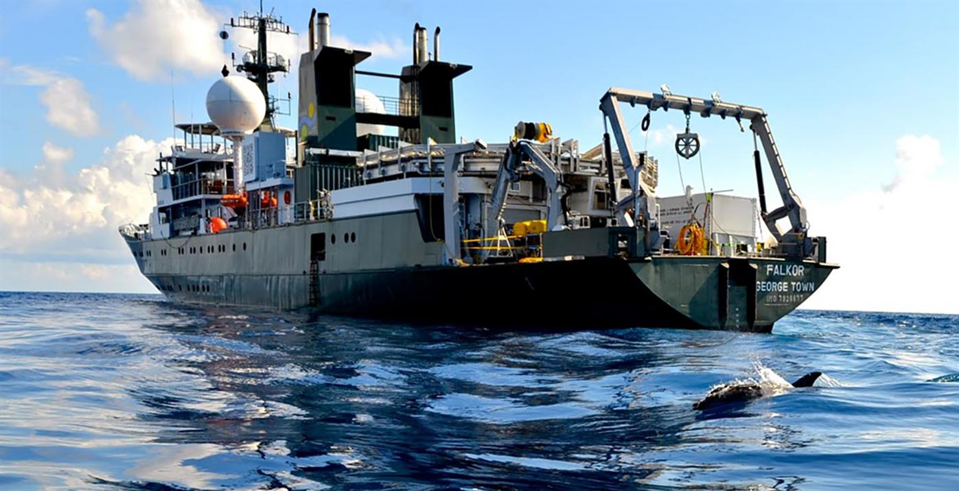 Live from the Field: Ocean Research Ship Falkor