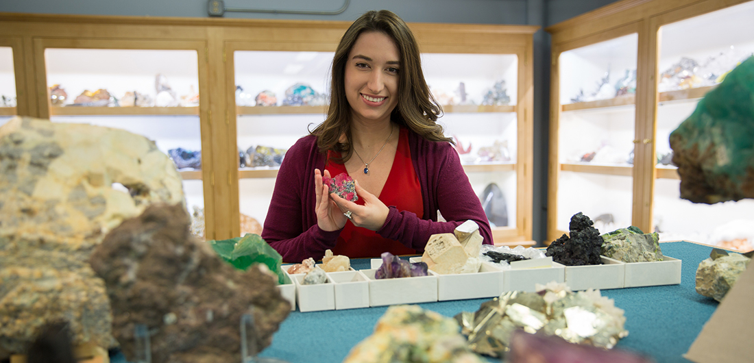 11AM CANCELED (Please Register for 2PM Webinar) Video Webcast - Exploring Minerals with Geologist Gabriela Farfan