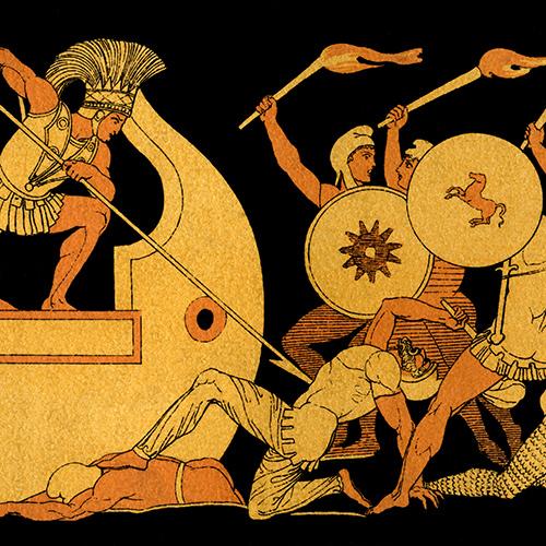 Retelling Homer's Iliad and Odyssey