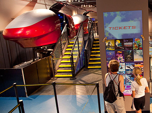 CANCELED - Ride Simulators canceled through June 1
