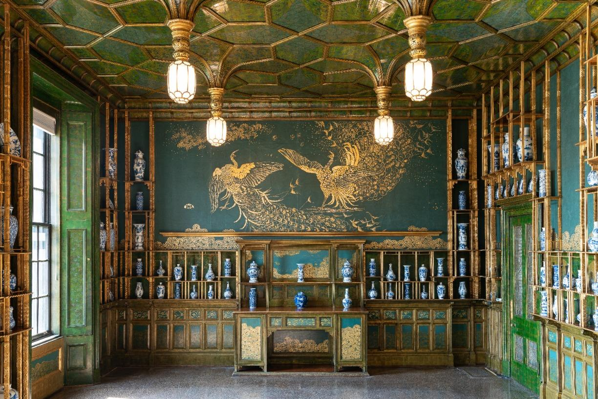Tea and Conversation: The Peacock Room