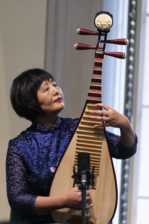 Look & Listen: Chinese Art and Music, Gao Hong, pipa, with Jan Stuart