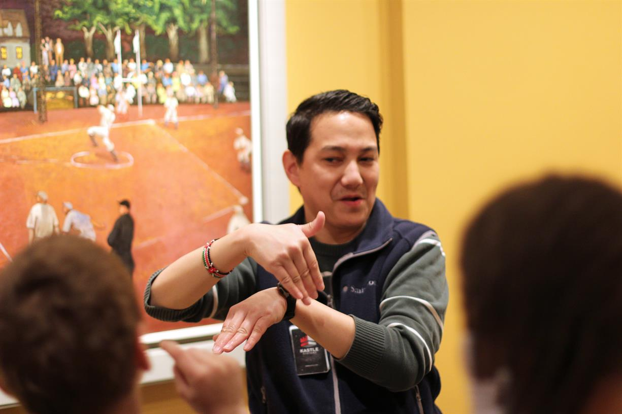 Art Signs: Gallery Talks in American Sign Language (ASL)