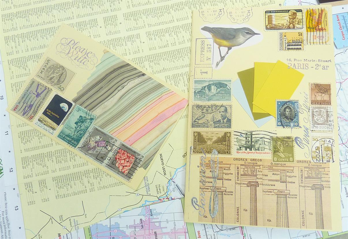 Wine and Design: Mail Art with Let's Go Postal