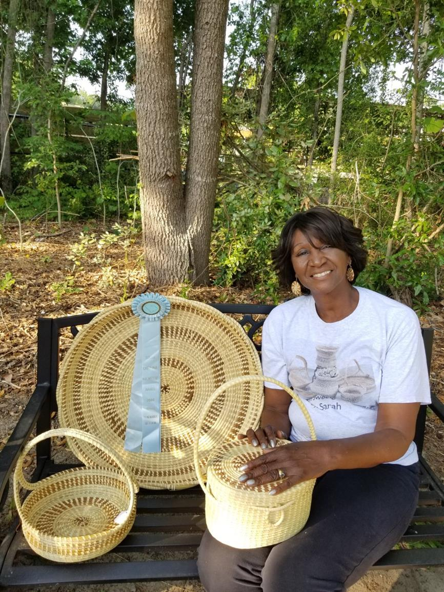 Charleston Sweetgrass Basket Weaving Demonstration