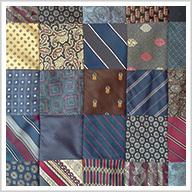 Necktie Quilts: Repurposed Finery