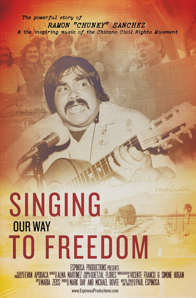 "Screening of ""Singing Our Way to Freedom"" and Discussion with Paul Espinosa and Quetzal Flores"
