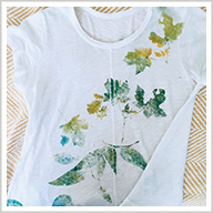 Fabric Printing Using Natural Materials