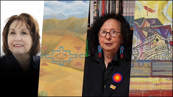 Native American artists Kay WalkingStick and Jaune Quick-to-See Smith in Conversation