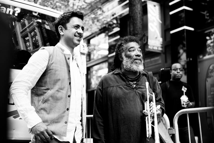 Vijay Iyer, piano and keyboards; Wadada Leo Smith, trumpet