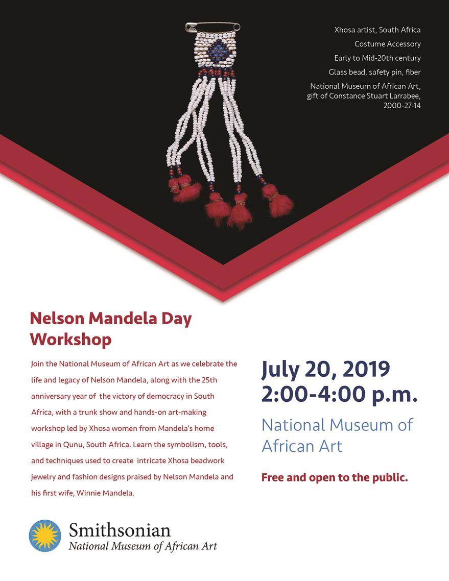 Nelson Mandela Day Workshop