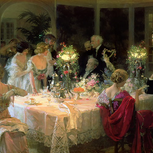 Elegant Dining and Entertaining in the Victorian Era