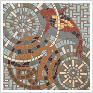 Exterior Mosaics in Unglazed Porcelain: Retro Meets Modern