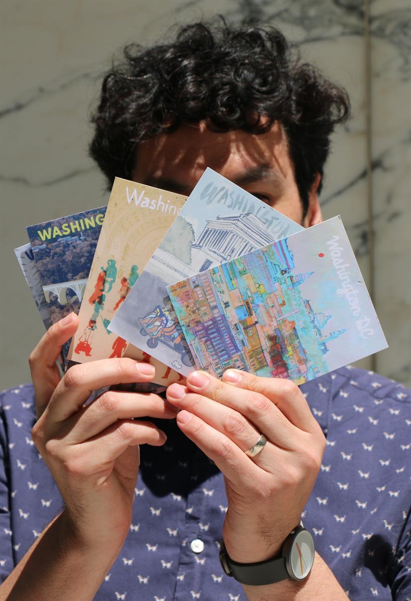 Beyond the Studio Workshop: Illustration & Travel Journaling with Carlos Carmonamedina