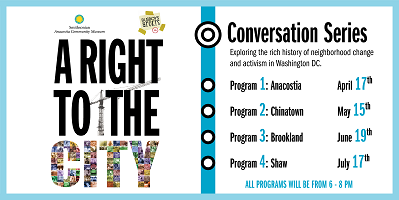 """""""A Right to the City"""" Conversation Series with Busboys and Poets"""