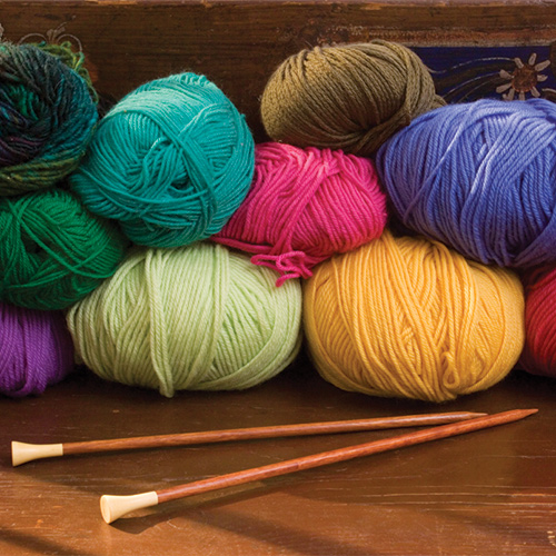 Knitting in Living Color