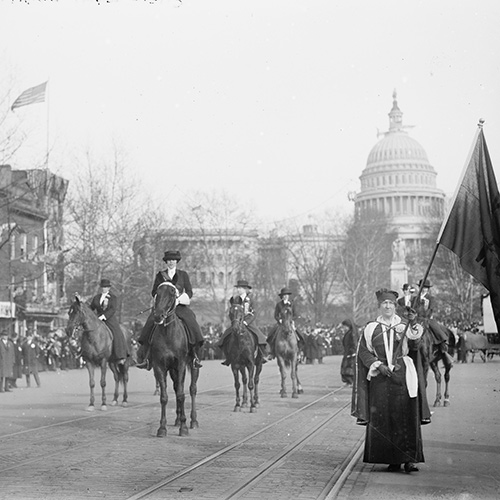 How the Suffragists Invented Washington Activism