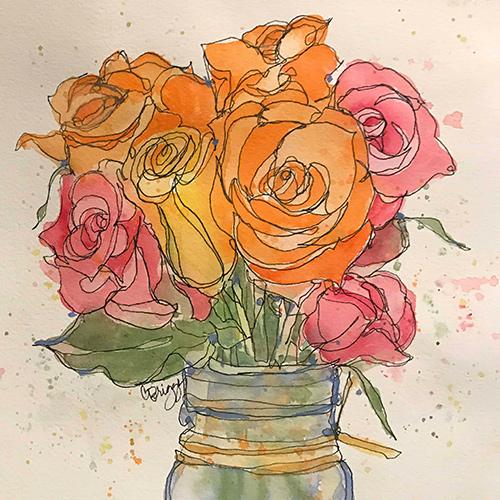 Quick Sketch Watercolors