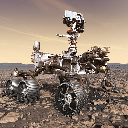 Roving for Signs of Life on Mars