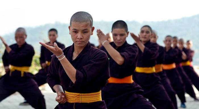 Talk and demonstration: Meet the Kung Fu Nuns