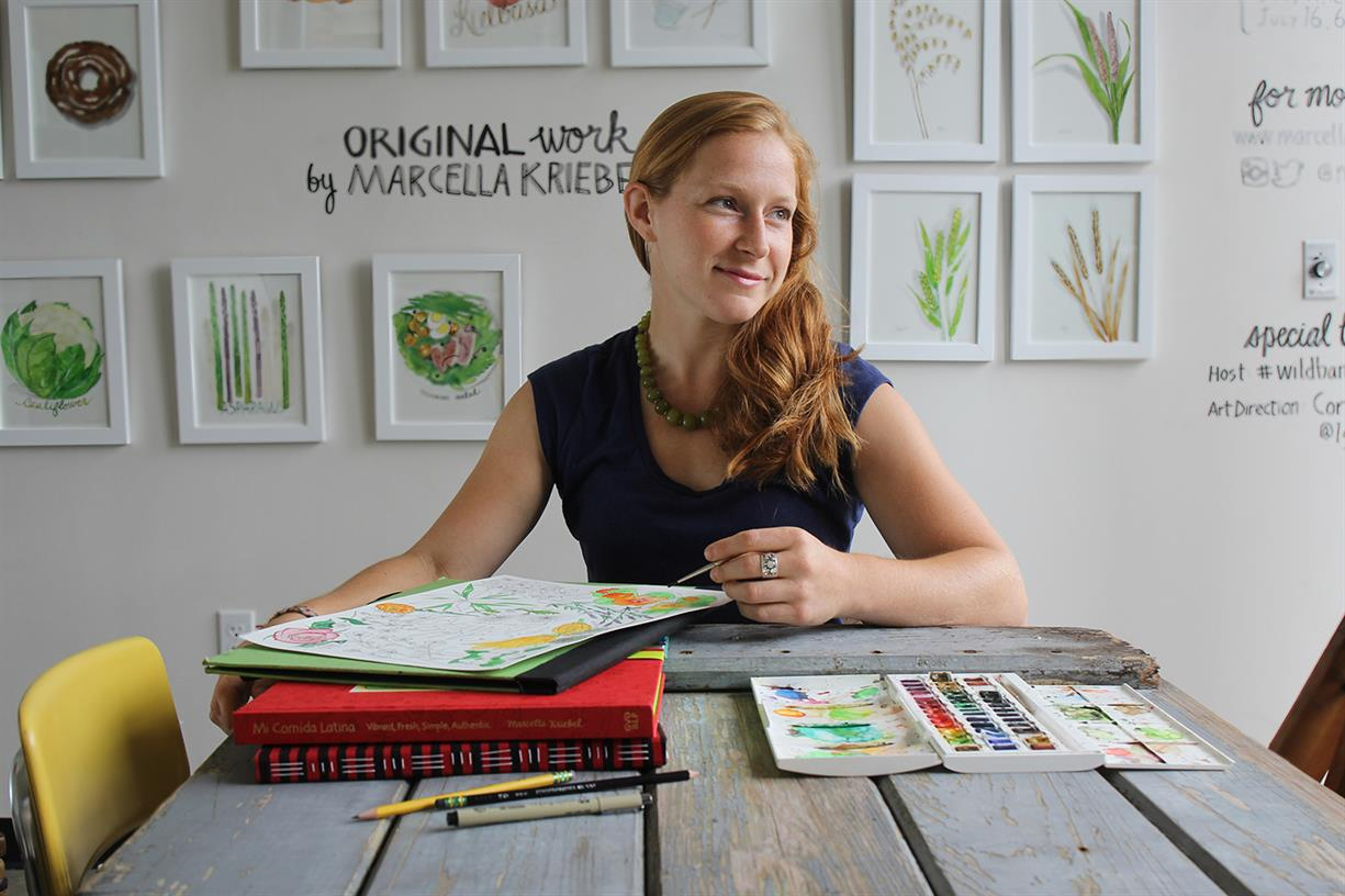 Beyond the Studio Workshop: Illustration with Marcella Kriebel