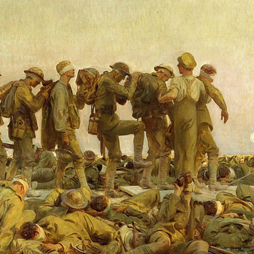 Art + History: Gassed by John Singer Sargent