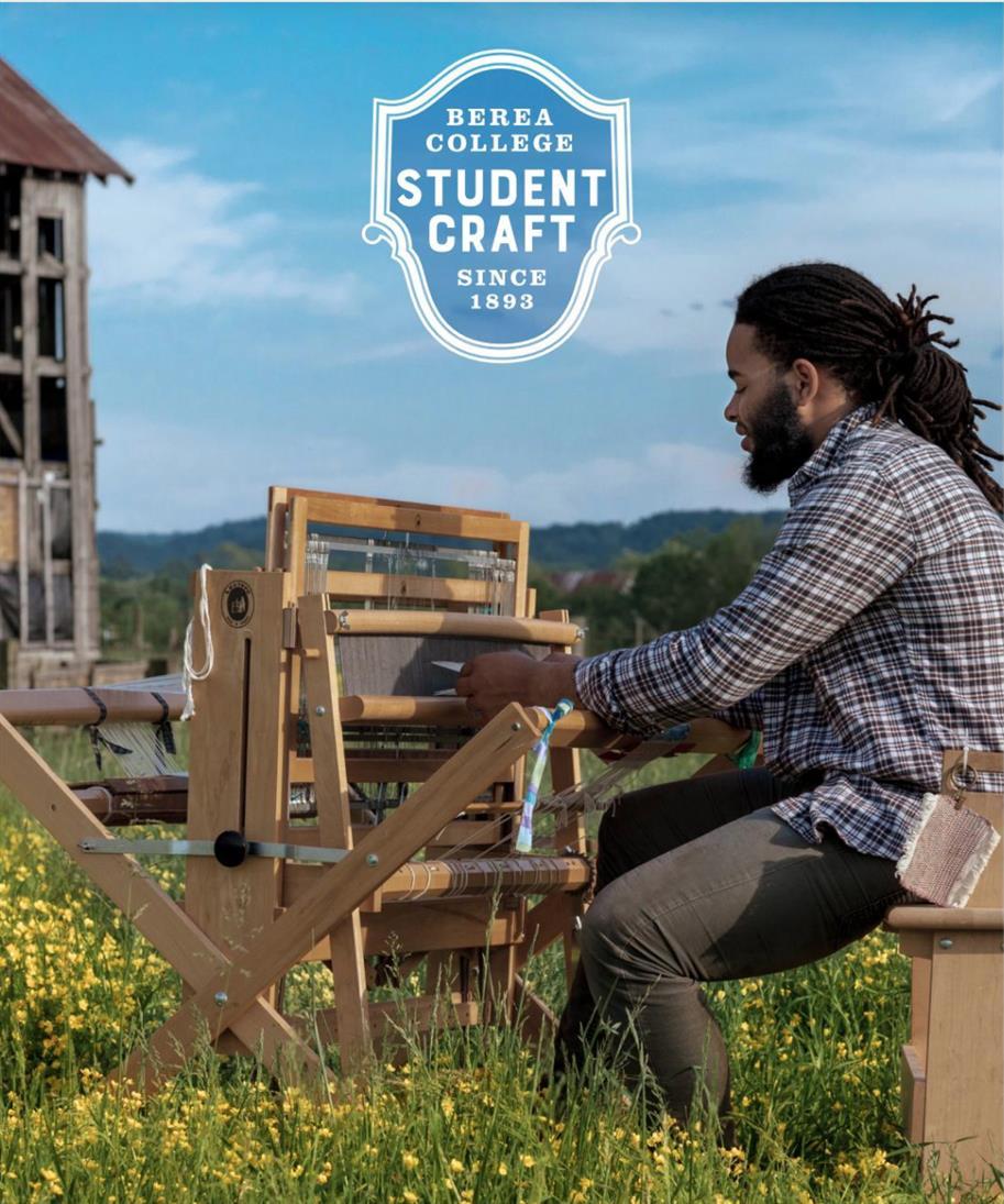 Interactive Weaving Demonstrations - Berea College Student Craft Program