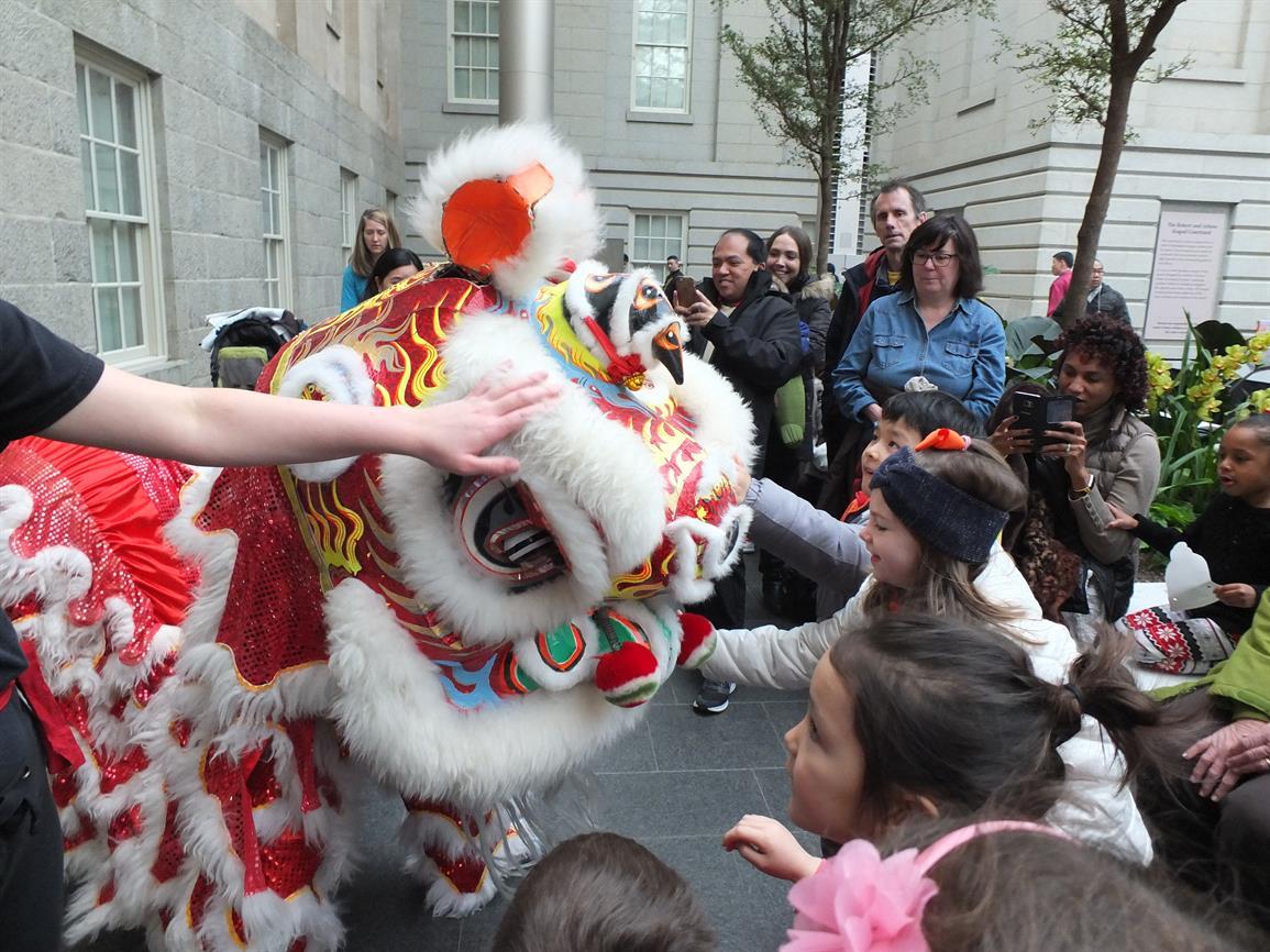 Chinese New Year Family Celebration