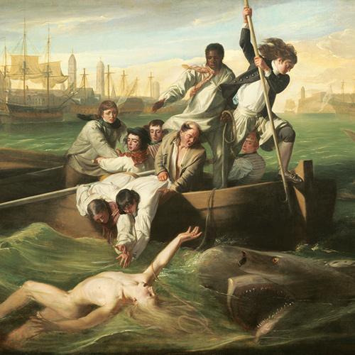 Art + History: Watson and the Shark by John Singleton Copley