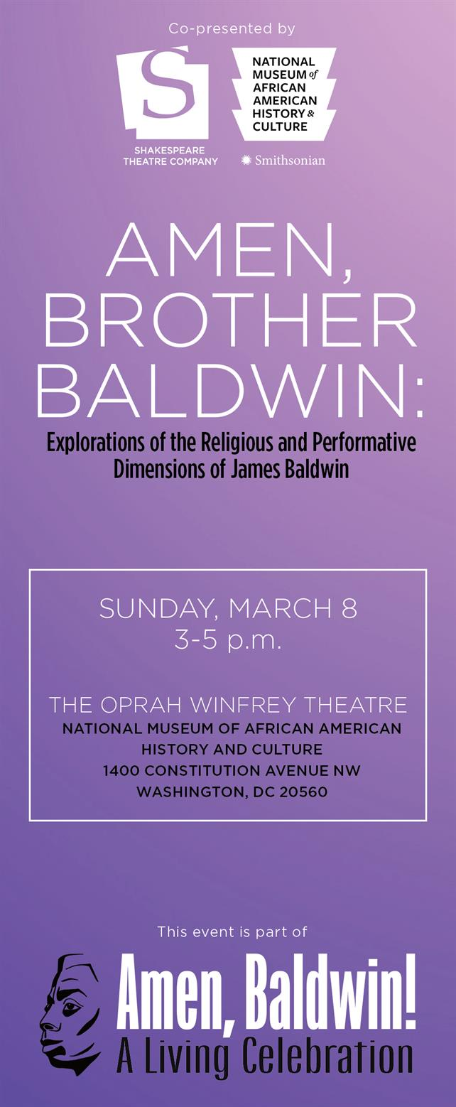 Amen, Brother Baldwin: Explorations of the Religious and Performative Dimensions of James Baldwin