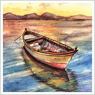 Beautiful Landscapes in Watercolor and Ink