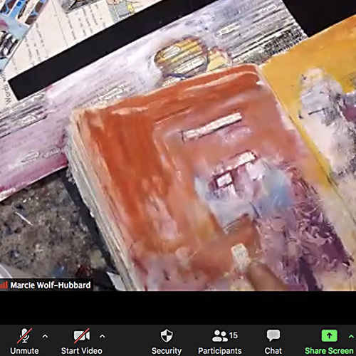 Teaching the Visual Arts to Adults on Zoom