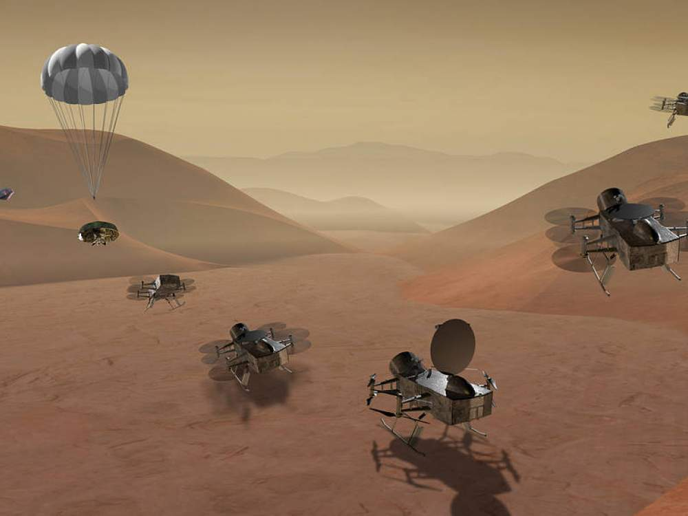 Live Chat: The Dragonfly Mission to Titan